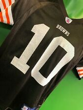 J670/210 NFL Cleveland Browns Brady Quinn #10 Reebok Jersey Youth Medium 10-12