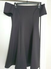 Forever 21 Womens Off the Shoulder Little Black Dress Size Medium