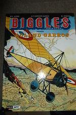 BD biggles n°12 raconte roland garros EO 1998 TBE aviation RAF