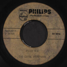 GREEK FOUNTAINS: Peggy Sue 45 Hear! (one-sided Acetate, unreleased cover of the