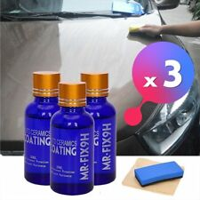 3Pcs 9H MR. FIX- SUPER CERAMIC CAR COATING AUTO CARE 30ML