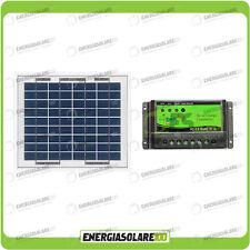 Kit solaire de maintien de charge panneau 5W 12V Bateau Caravane camping car