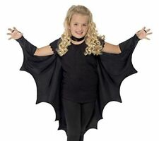Smiffy's Kids Unisex Vampire Bat Costume, Wings, Black, One Size,  44414