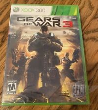 Gears of War 3 (Microsoft Xbox 360, 2011) New, Sealed