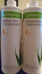 2 NEW  Herbalife Herbal Aloe Concentrate -Choose flavor- Free Ship! exp 02/2023