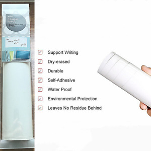 Message Board Self Adhesive Dry Wipe 29 X 60 cm Office Home Or School  0204299