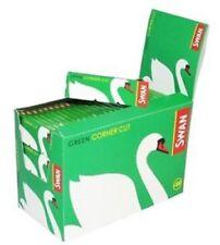 NEWSwan Green Rizla  CIGARETTE ROLLING GENUINE PAPERS ORIGINA50BOOKLETCORNER CUT