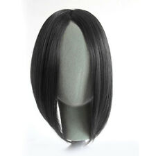 Womens Girl Straight Long Side Fringe Bangs Clip In Hair Natural Piece