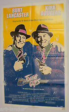 TOUGH GUYS Burt Lancaster Kirk Douglas Original 1986 1 Sheet Movie Poster 27x41