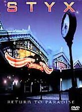 Styx - Return to Paradise (DVD, 1999)