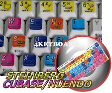 Steinberg Cubase / Nuendo keyboard stickers