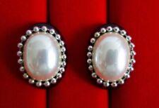 BO clips vintage Japon japanese earrings ! Très beau ! H=3cm.