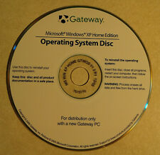 Microsoft Windows XP Home Re-installation CD  For Gateway PC
