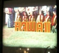 1968 8mm Home Movie Hawaii Carthaginian Hula Marina Aquarium Beach Harbor Boats