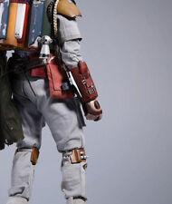 1/6 Hot Toys STAR WARS BOBA FETT DELUXE Figure Gauntlet Armor pre-pro Sideshow