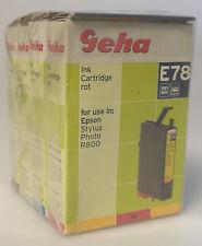 (PRL) LOTTO CARTUCCIA COMPATIBILE PER EPSON STYLUS PHOTO R800 R 800 CARTRIDGE
