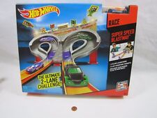 BRAND NEW! Super Speed Race New Ultimate Racing Champ Hot Wheels Track Set HTF