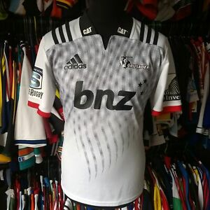 CRUSADERS 2017 AWAY UNION RUGBY SHIRT ADIDAS JERSEY SIZE ADULT M