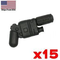 LEGO Star Wars Guns NN-44 Blaster Pistol Rey Lot of 15 Military Weapon Pack