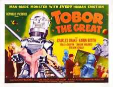 Tobor The Great Poster 03 A3 Box Canvas Print