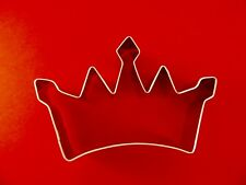 "New ! Ann Clark Princess Crown 4 5/8"" Cookie Cutter  Tin Plated Steel. USA"