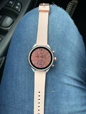 Fossil Q Venture HR (4th Generation) 40mm Rose Gold Tone Stainless Steel Case...