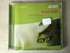 Hörbuch - Arne Dahl - Das dritte Auge gelsen von Markus H. Eberhard ca.40 min.