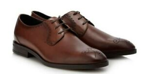 Hammond & Co By Patrick Grant Tan Leather Tetbury Mens Shoes Size 10 NEW BOXED