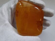 VINTAGE NATURAL BALTIC AMBER VERY RARE BUTTERSCOTCH EGG YOLK AMBER 25 grams 老琥珀