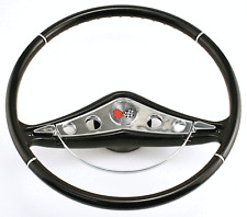 "1958-60 Chevy Impala Gel Coat Steering Wheel 15"" Original 58-60 Steering Column"