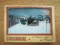 ancienne pochette 10 photos Strasbourg - Marasco