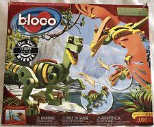 Bloco Dinosaur Building Set Velociraptor and Pterosaur Construction Foam Set