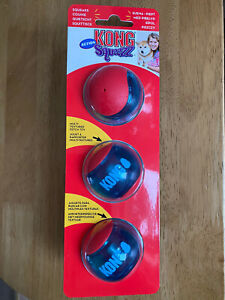 Kong Action Squeezz Balls 3 Pack Small