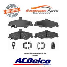 Rear Disc Brake Pad Fits Avanti Chevrolet Pontiac AC Delco Pads Ceramic 14D750CH