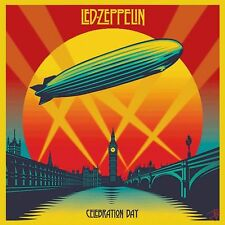 Led Zeppelin - Celebration Day 2CD, DVD and Size Large Tee NEW/SEALED