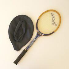 Raquette Tennis Bois ancienne - SNAUWAERT AQUAMARINE - TBE - Manche LM4