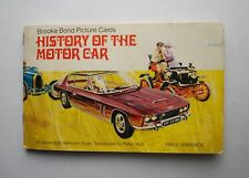 BROOKE BOND TEA CARD ALBUM COMPLETE THE HISTORY OF THE MOTOR CAR