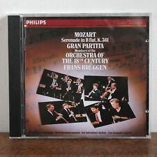 MOZART serenade K361 – Frans Bruggen – Philips 1988 – 422 338-2 – made in France