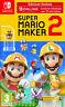 Videogioco Super Mario Maker 2 + Online 12 Mesi Nuovo Italiano Nintendo Switch