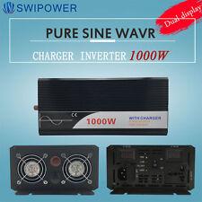 ups Inverter charger Pure Sine Wave 1000w 12V/24V/48V DC to AC 220V/230V power