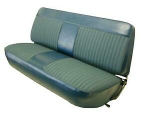 Ford F150/F250 Std Pickup Woven Cloth Seat Upholstery for Front Bench 1973-1979