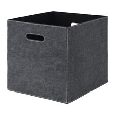 Ikea Bladdra Grey Felt storage box for Kallax Expedit unit