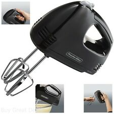 New Electric Hand Mixer 5 Speed Handheld Blender Whisker Mixing Tool Bake Cook