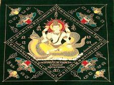 Magical Pha Yan Amulets L.PThai Buddha Phar Rahu yantra Ganesha Pra yant Brahma