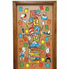 Dr Seuss Reading Door Decor Kit Eureka Eu-849314