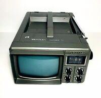 Vintage Bentley Portable TV Receiver Model 100C Grey Excellent Condition