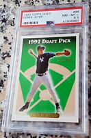 DEREK JETER 1993 Topps SP GOLD Rookie Card RC PSA 8.5 RARE NY Yankees $$ HOF $$