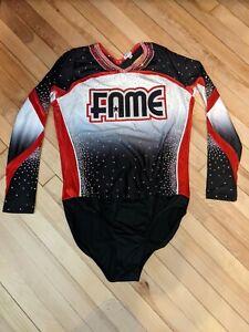 Fame All-Stars Rebel Athletic Cheer Uniform Adult 3XL RARE!!!!!!!