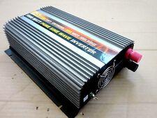 1000 Watt PURE SINE WAVE  Power Inverter 12V DC 110/120VAC-60Hz 2000W, DC Port