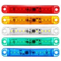 24V 2PCS LED Anhänger Seitenmarkierungsleuchte Blinker Gelb Rot Grün Blau Weiß